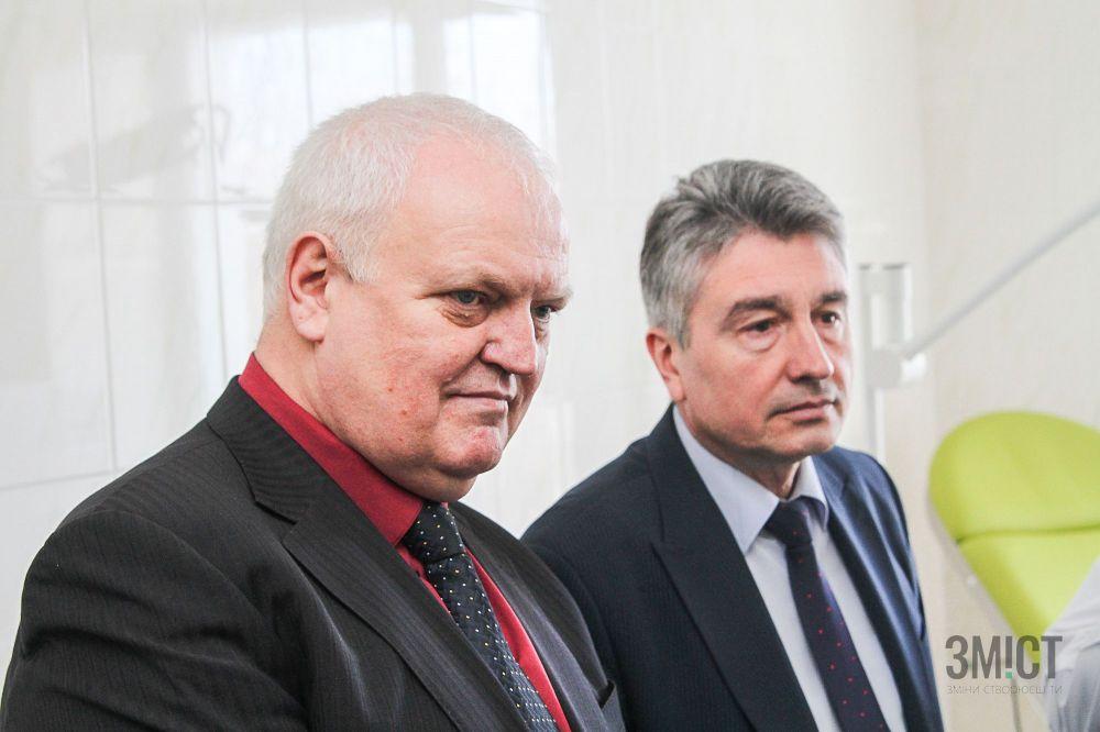 Віктор Лисак та Олег Пругло