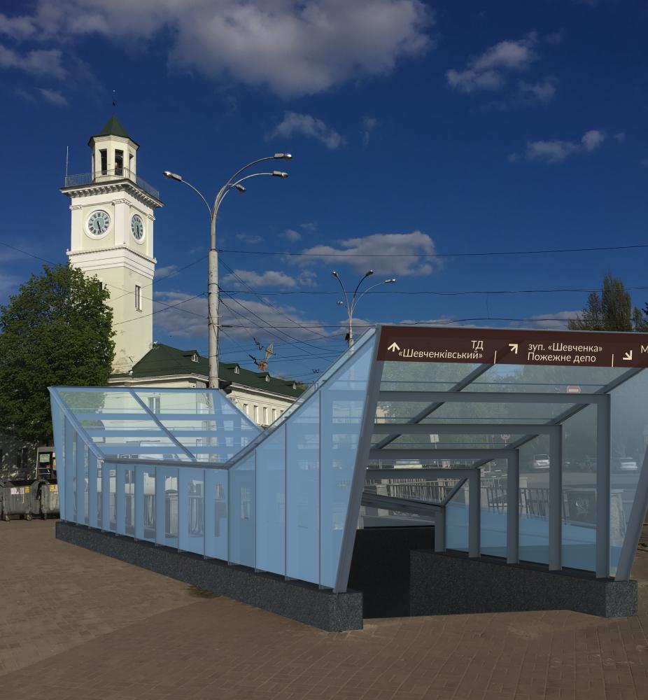 Підземний переход по вул. Шевченка після реконструкції